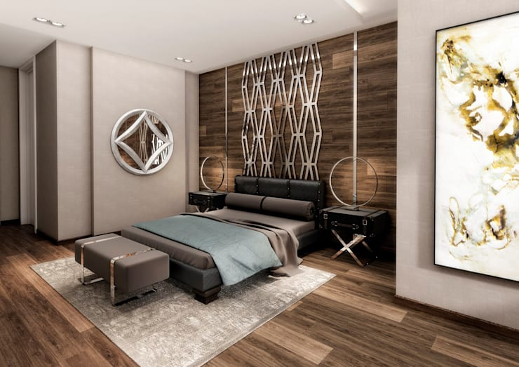 Colección Alexandra: modern Bedroom by S. T. Unicom Pvt. Ltd.