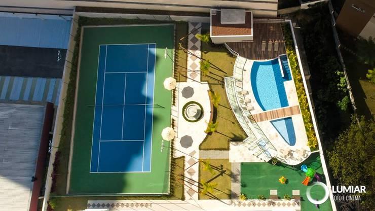 Piscinas de jardín de estilo  por Felipe Mascarenhas Paisagismo, Moderno