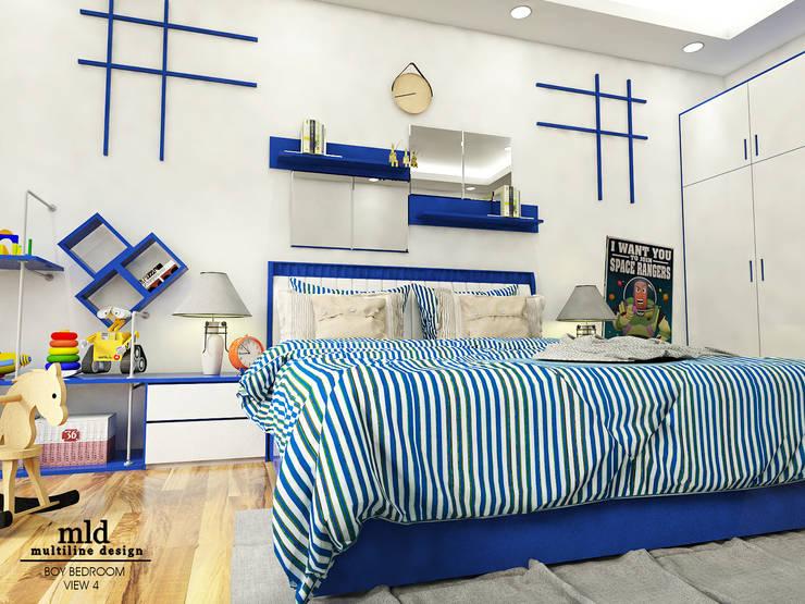 Design Ver 1:  Kamar tidur anak laki-laki by Multiline Design