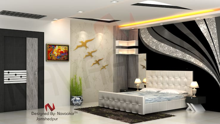 project in West bengal:  Bedroom by Navaakar