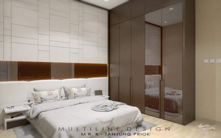 Boy Bedroom – Tanjung Priok:  Kamar tidur anak laki-laki by Multiline Design
