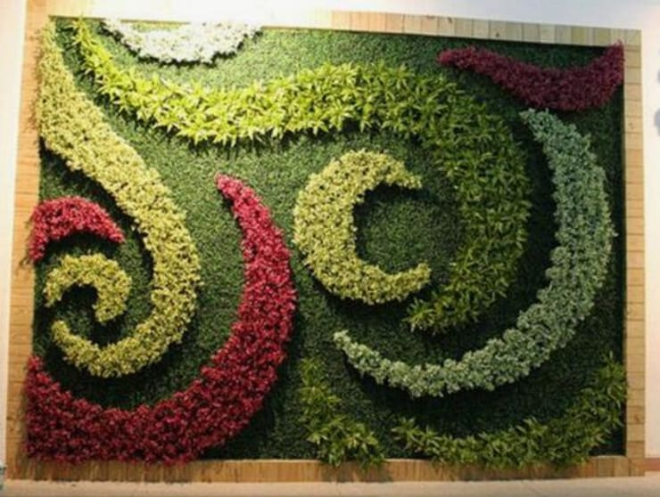 Artificial Plants Wall Airt:  Exhibition centres by Sunwing Industrial Co., Ltd.,Country Plastic