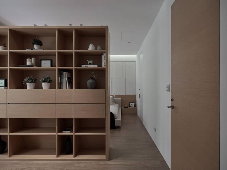 Arbeitszimmer von 沐禾設計事務所