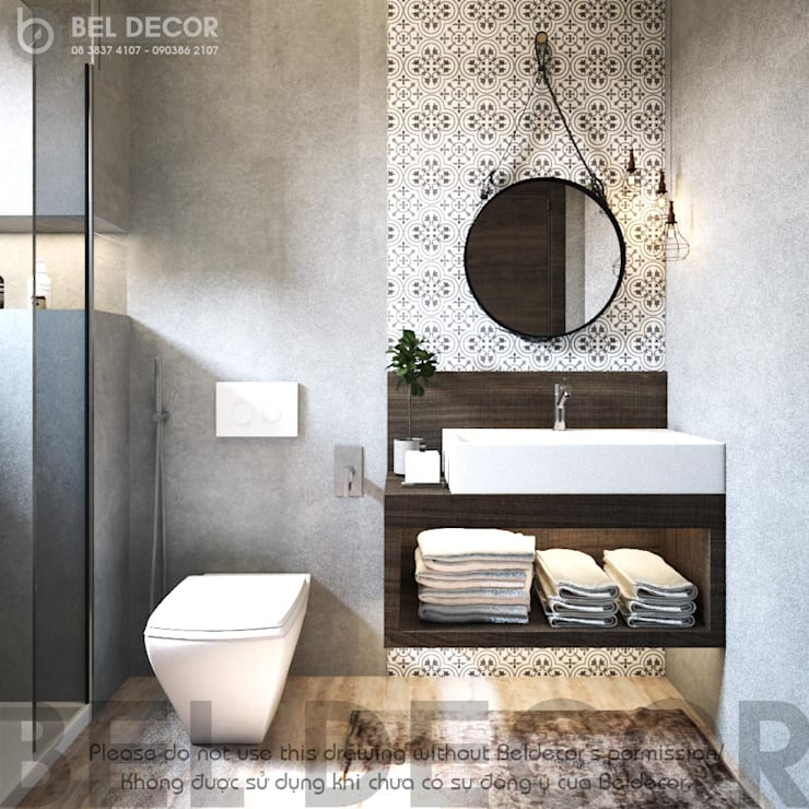 Rest Room:   by Bel Decor