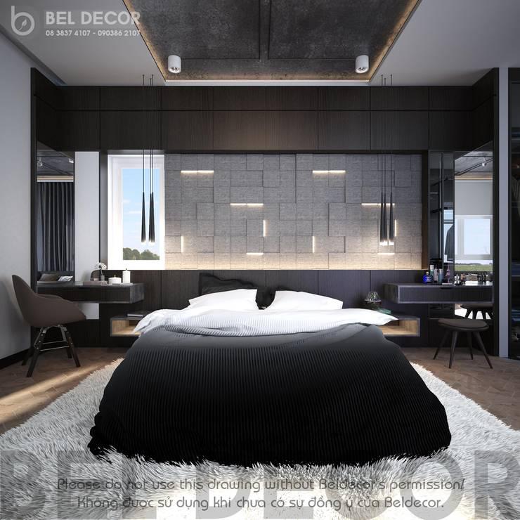 Master Bedroom:  Nursery/kid's room by Bel Decor