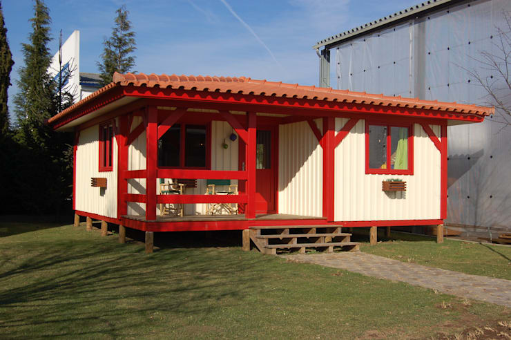 RUSTICASA | Casa Eco | Vila Nova de Cerveira: Casas de madeira  por Rusticasa