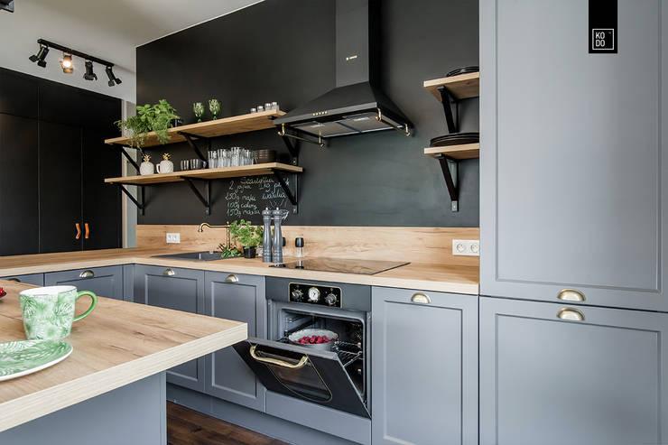 مطبخ تنفيذ KODO projekty i realizacje wnętrz