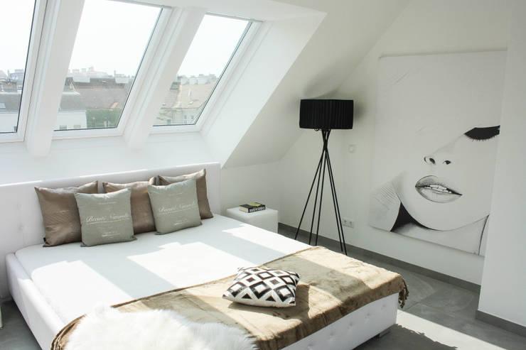 Schlafzimmer:  Schlafzimmer von Home Staging by Sabrina Schulz