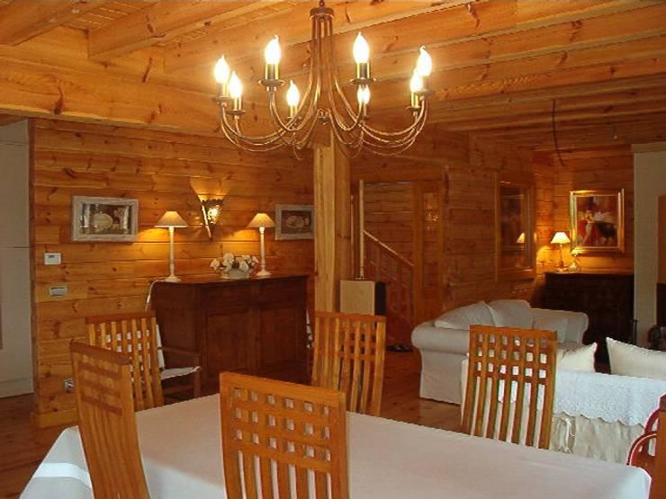 Ruang Makan oleh Rusticasa, Rustic Parket Multicolored