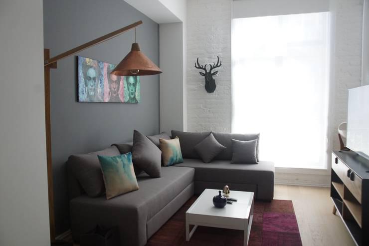 Salas / recibidores de estilo  por Alameda Estudio