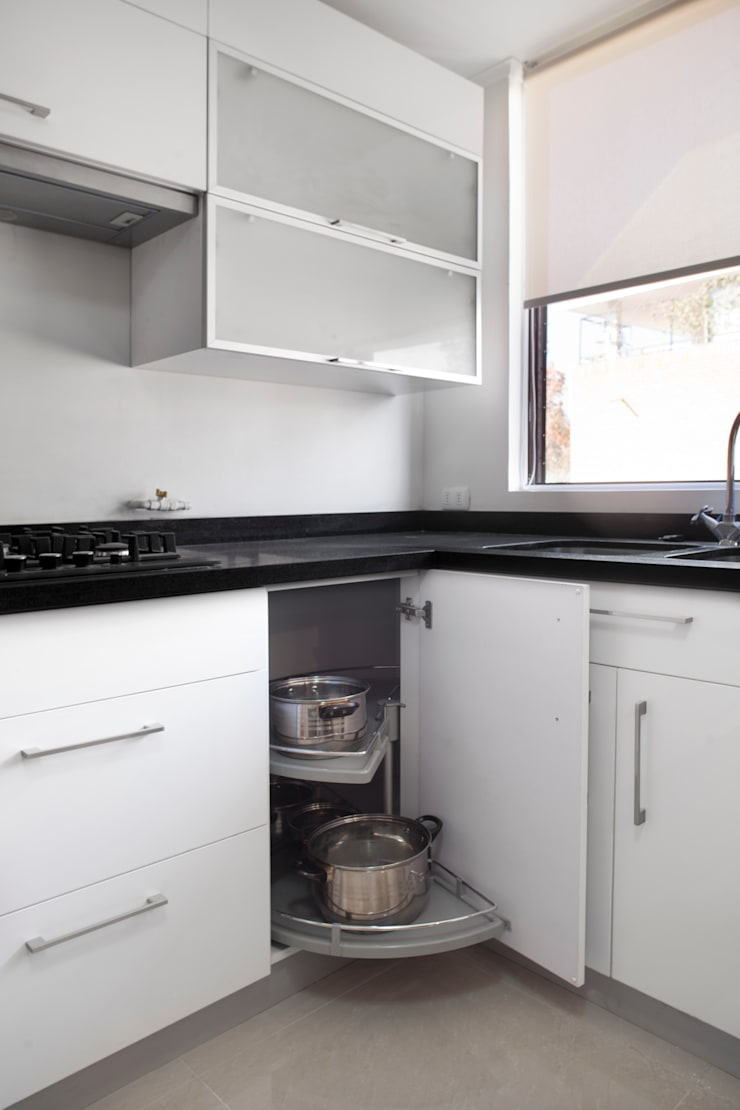 Remodelación Depto Homero: Cocinas de estilo  por ARCOP Arquitectura & Construcción