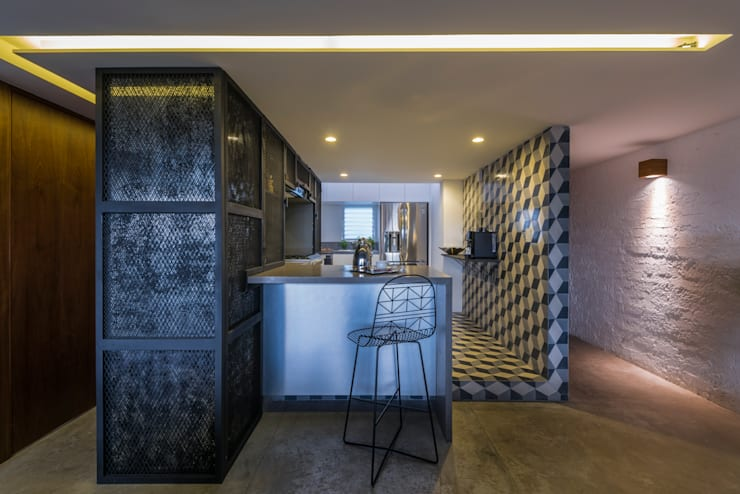 Kitchen by HDA: ARQUITECTURA BIOCLIMATICA