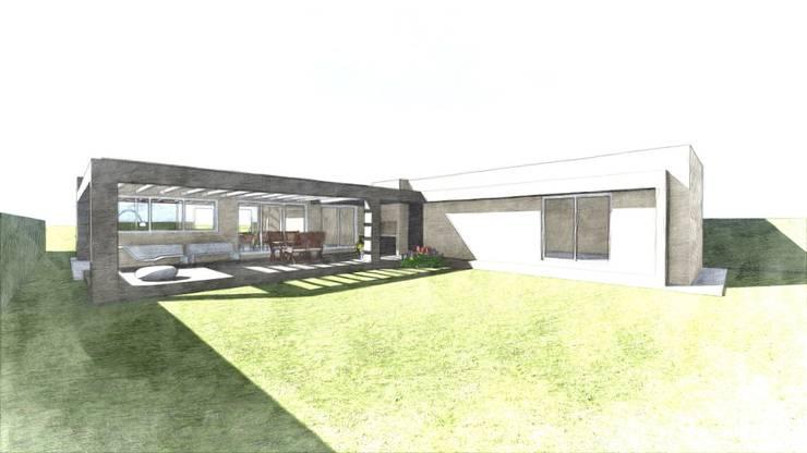 Maison individuelle de style  par MONTOZA | ESTUDIO, Moderne Briques