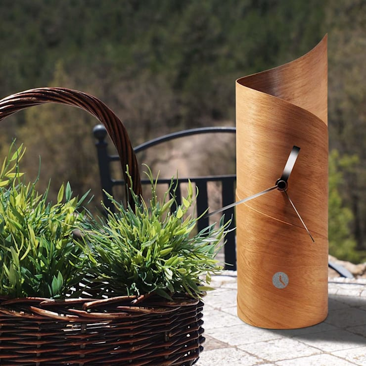 Tothora Surf Clock - Wenge: modern Living room by Just For Clocks