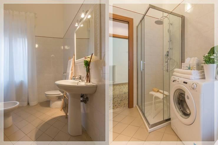 Casas de banho  por Anna Leone Architetto Home Stager