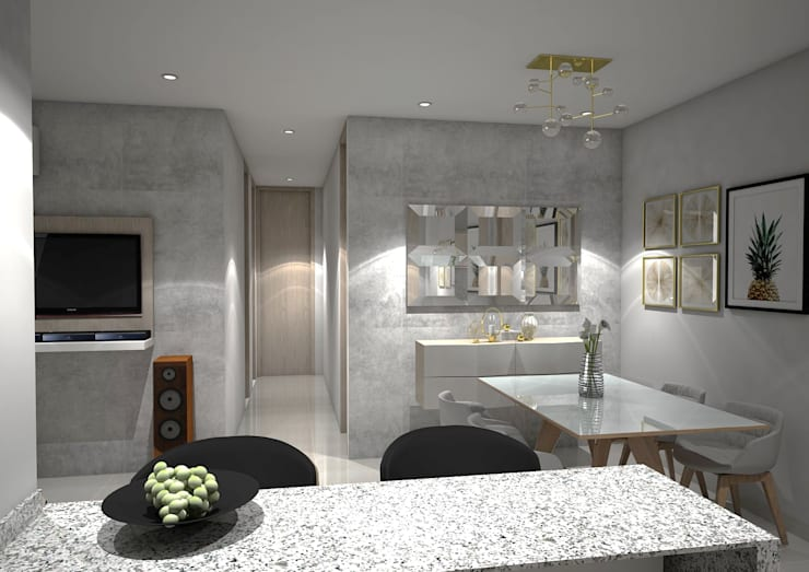 Dining room by ecoexteriores