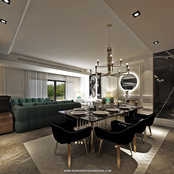 غرفة السفرة تنفيذ ahmed hussein designs