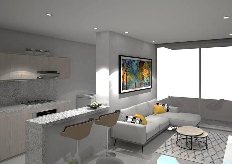 Living room by Savignano Design