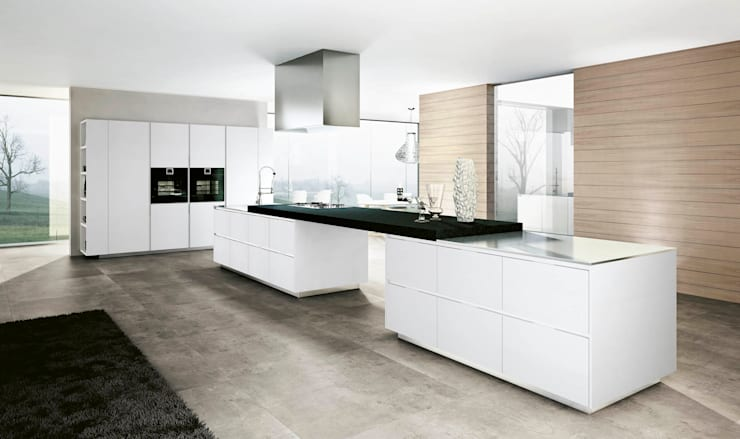Built-in kitchens by Santa Julia Diseños