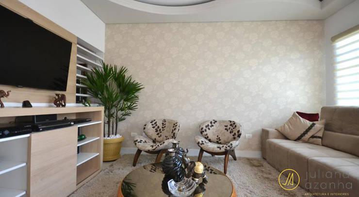 Salas de estilo  por Juliana Azanha | Arquitetura e Interiores