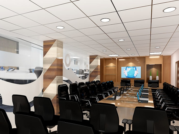 Tata Steel Rural Development Society (TSRDS, Kalinganagar):  Office buildings by Falcon Resources