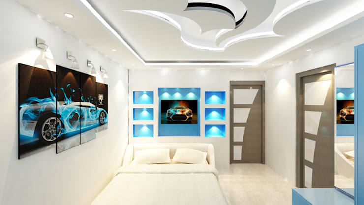 Residential 1: modern Bedroom by Falcon Resources