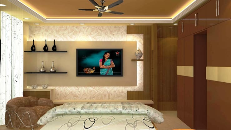 Residential 2: modern Bedroom by Falcon Resources