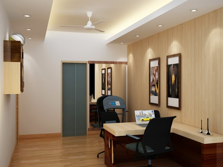 Residential 2:  Study/office by Falcon Resources,Modern