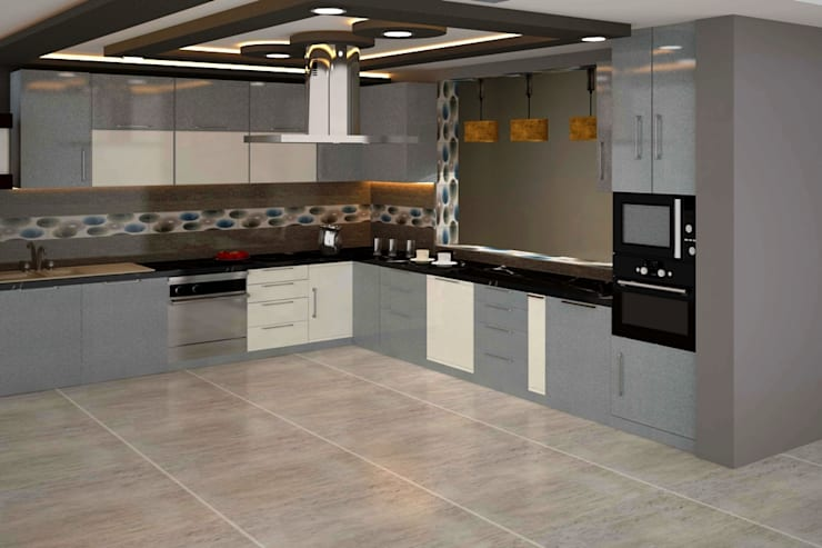 Residential 2:  Kitchen by Falcon Resources
