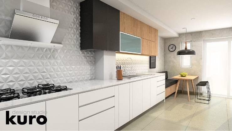 : Cocinas de estilo moderno por Kuro Design Studio