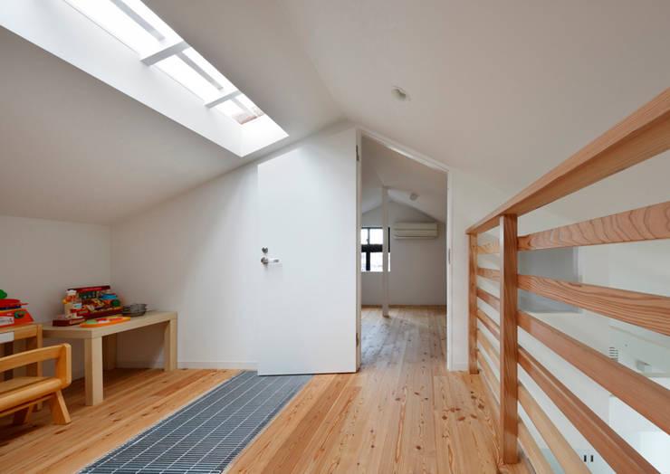 書斎入り口: atelier mが手掛けた書斎です。