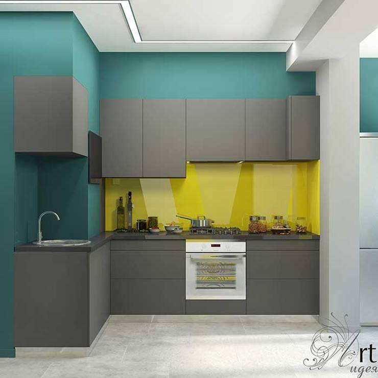 дизайн маленькой кухни: Кухни в . Автор – Арт-Идея, Лофт ДСП