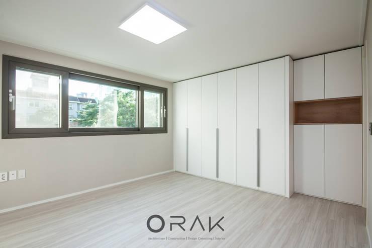 서현동 동양파크빌 / 30평형 아파트 인테리어: 오락디자인의  방,모던