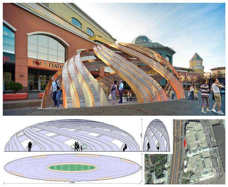 Концепция объекта (инсталляции) у ТРК Атриум:  в . Автор – Проектная группа «Портал»