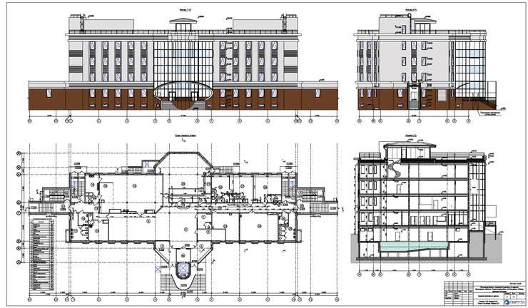 Производственно-складской комплекс:  в . Автор – Проектная группа «Портал»
