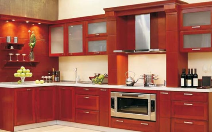 Residential Interior : asian Kitchen by Manoj Interior Decorator