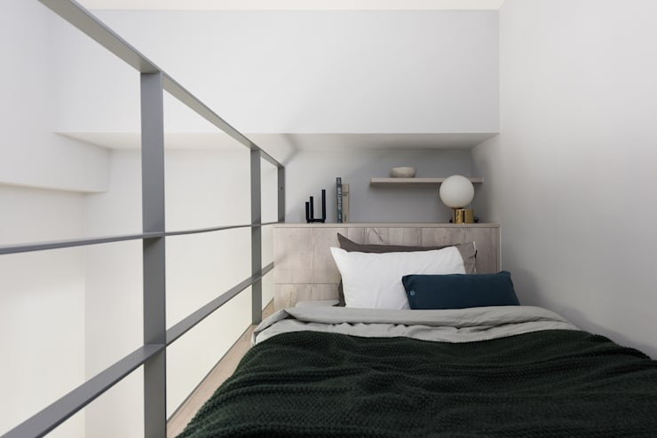 爵士藍調:  臥室 by 寓子設計
