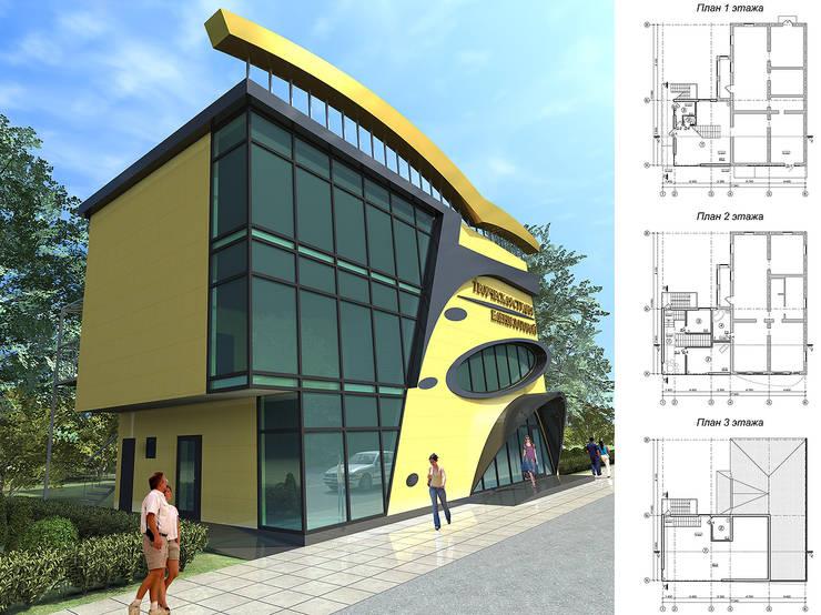 Реконструкция здания творческой студии:  в . Автор – Проектная группа «Портал»