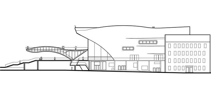 Реконструкция кинотеатра <q>Пушкинский</q>:  в . Автор – Проектная группа «Портал»