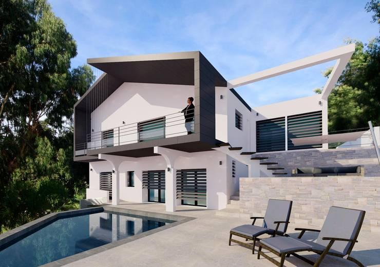 Progetti Esterni Di Ville : Progetto per l ammodernamento esterno di villa provenzale von