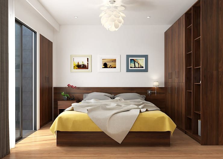 Bedroom by SYNTHESIS ARCHITECTURE