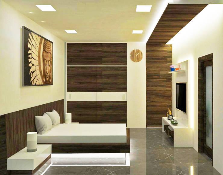 Residential interior design:   by KISHAN SUTHAR