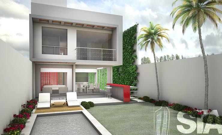 modern Garden by Soluciones Técnicas y de Arquitectura