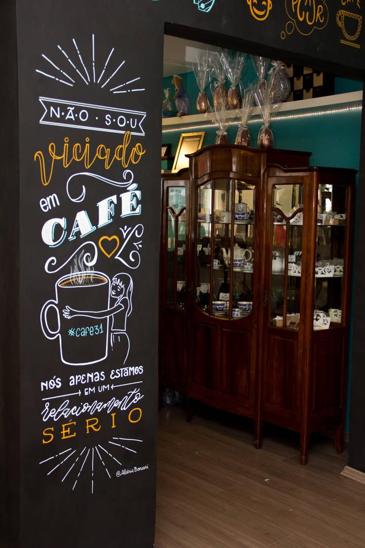 Café 31 | Paredes personalizadas: Arte  por Aldric Bonani