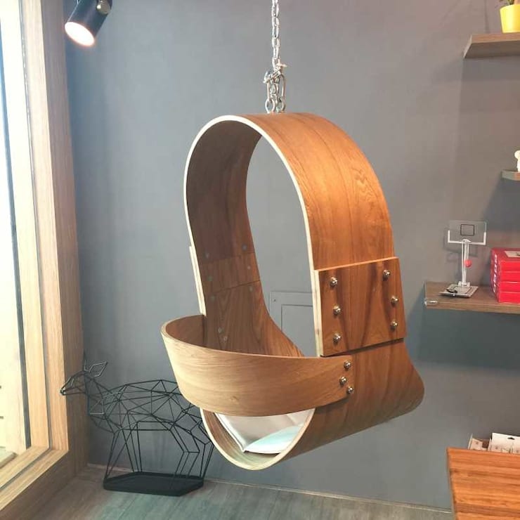 Swing chairs:  客廳 by CHENset 陳設