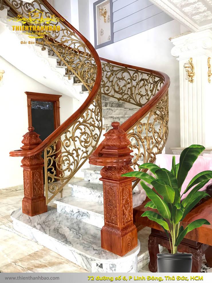 Villa von Cổng nhôm đúc Thiên Thanh Bảo