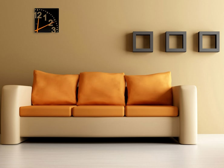 Karlsson Unlimited Wood Wall Clock Black:  Living room by Just For Clocks,