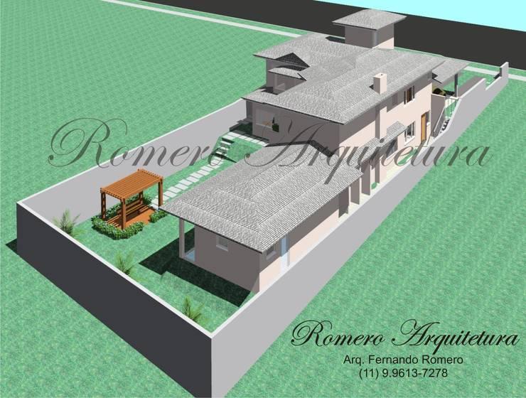 Maisons modernes par Romero Arquitetura Moderne