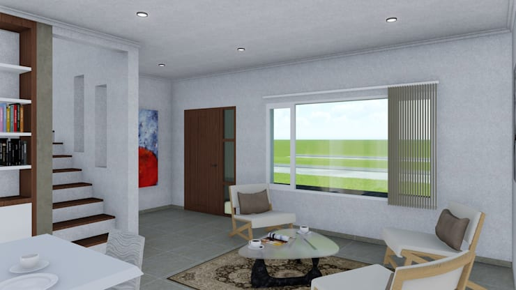 classic Living room by ARBOL Arquitectos