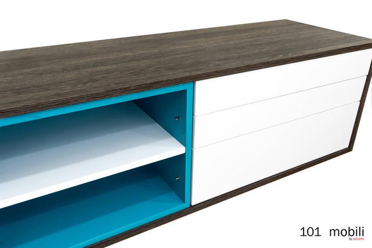 Legno 101:  de estilo  por Legno / Mobili, Moderno Aglomerado